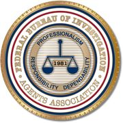 The FBI Agents Association Logo (Credit: public domain)