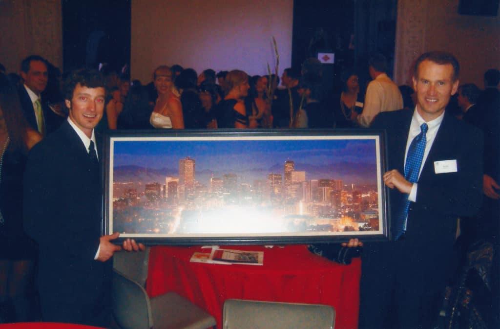 DMIS Auction - Denver Skyline Art Donation