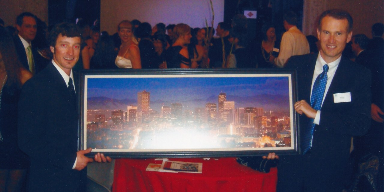 DMIS Auction - Denver Skyline Art Donation