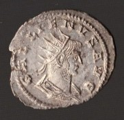 Roman Empire, Silver Antininianus of Gallienus AD 253-268