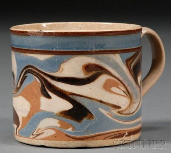 English Mochaware pottery