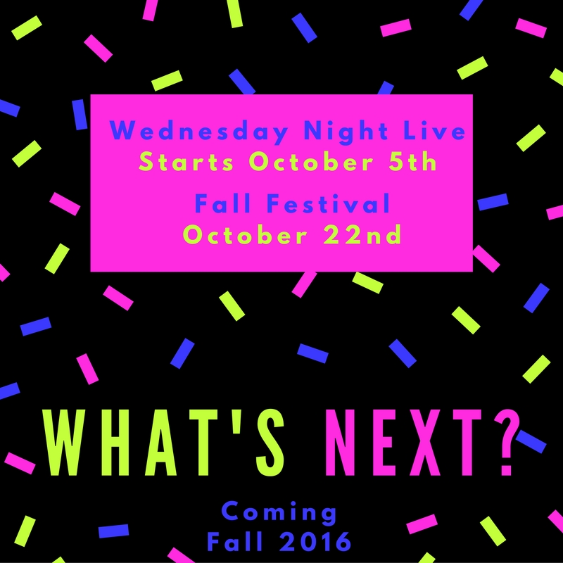 What's Next - Fall 2016