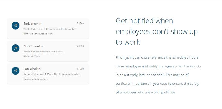 track all of your employees from a single dashboard