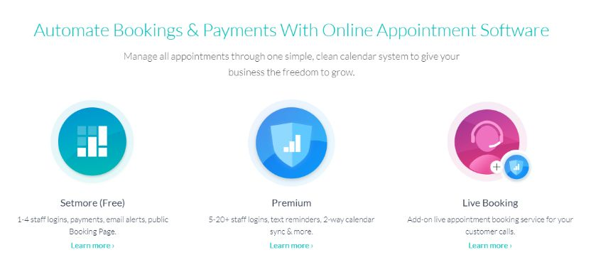 automate bookings and payments with online scheduling software