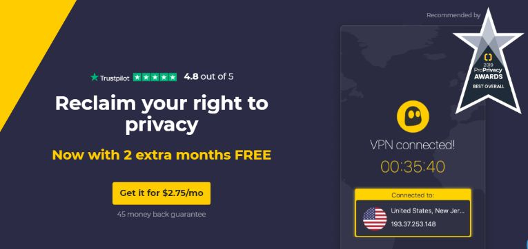 One of the most trusted VPN with 2 months Free