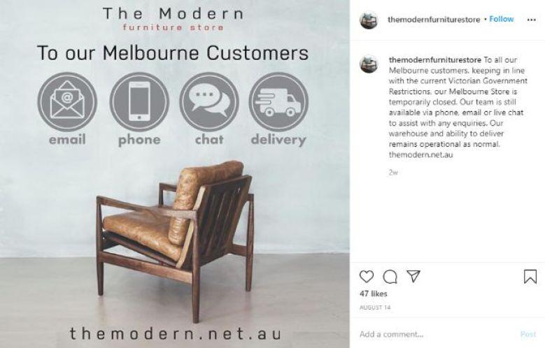 Instagram ads for social media marketing campaign