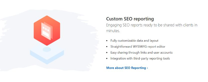 Custom SEO report for your clients