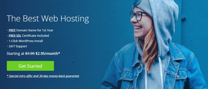 Affordable Web hosting service with 30-days Money Back