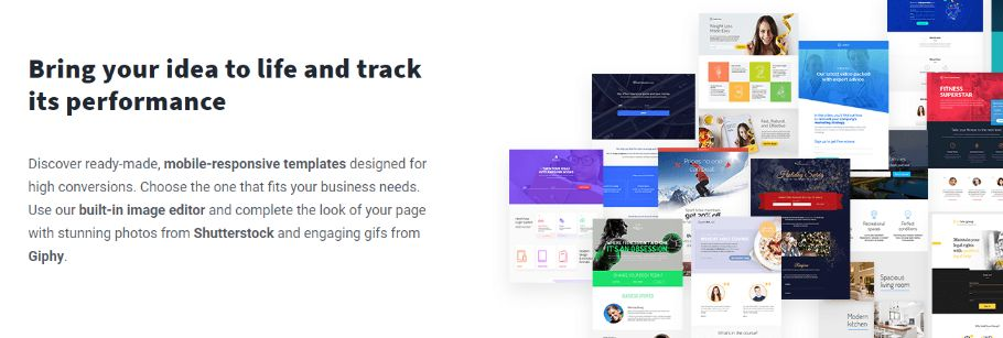 Ready-made, Pre-designed Landing Page Templates