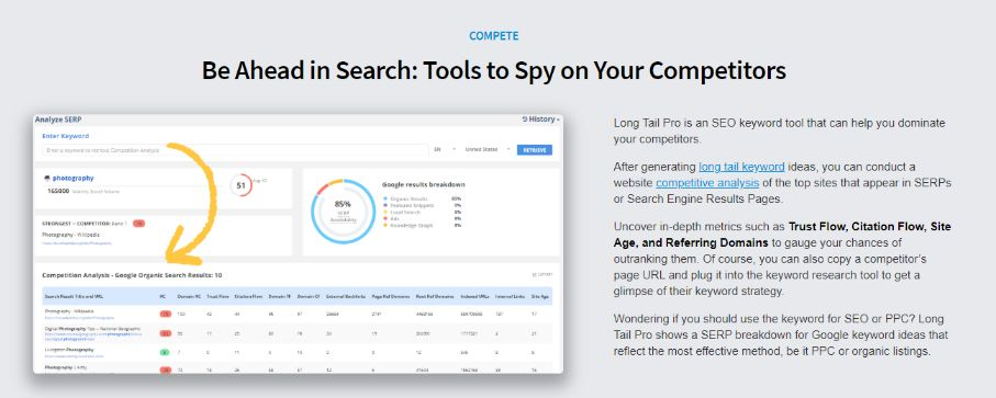 What are SEO tools and what are they used for? Use it to spy on your competitors and get the advantage