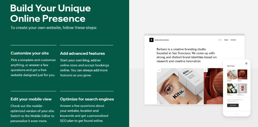 Customize your site the way you want – freedom is yours