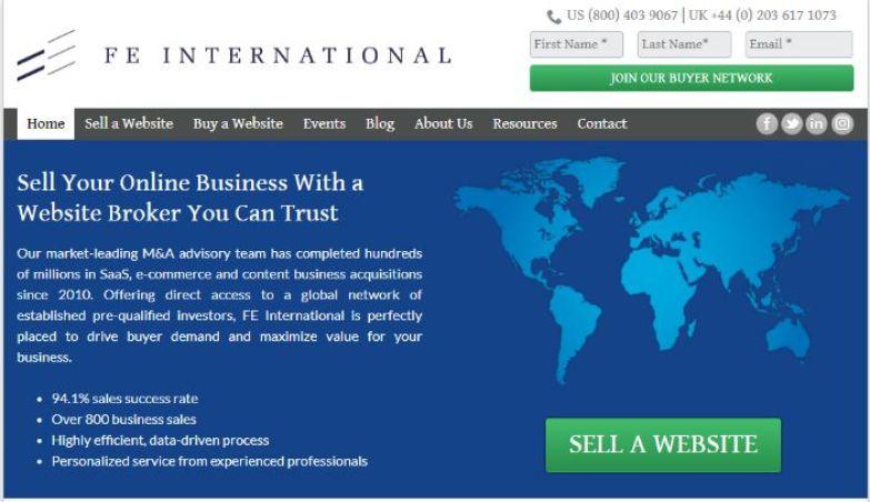 FE International Buy & Sell Digital Asset Globally