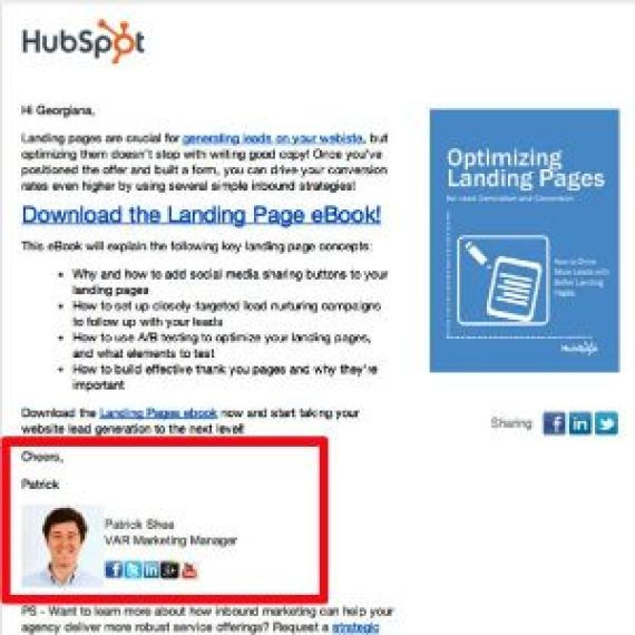 personalize your email campaign as much as possible thus it will increase your conversion rate