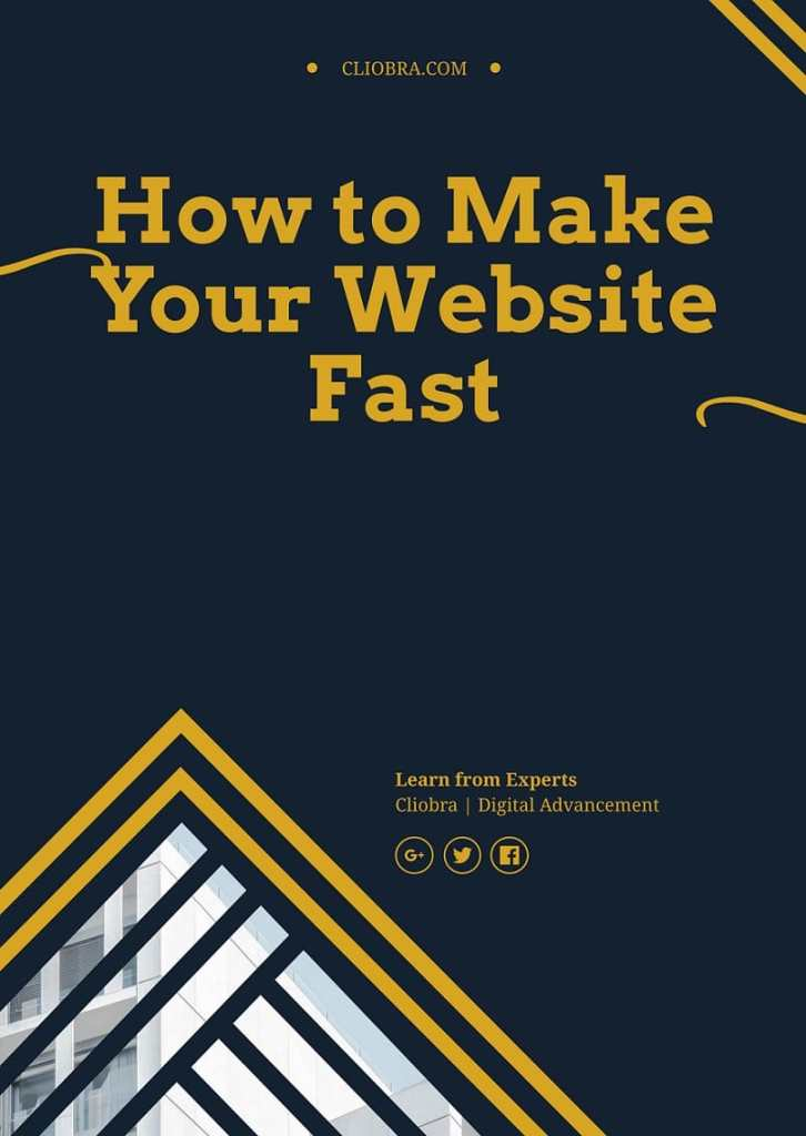how to make your website load faster than before