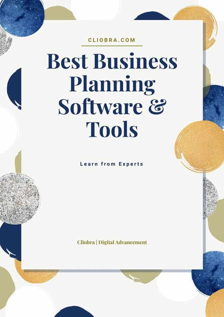 Best business planning software & tools