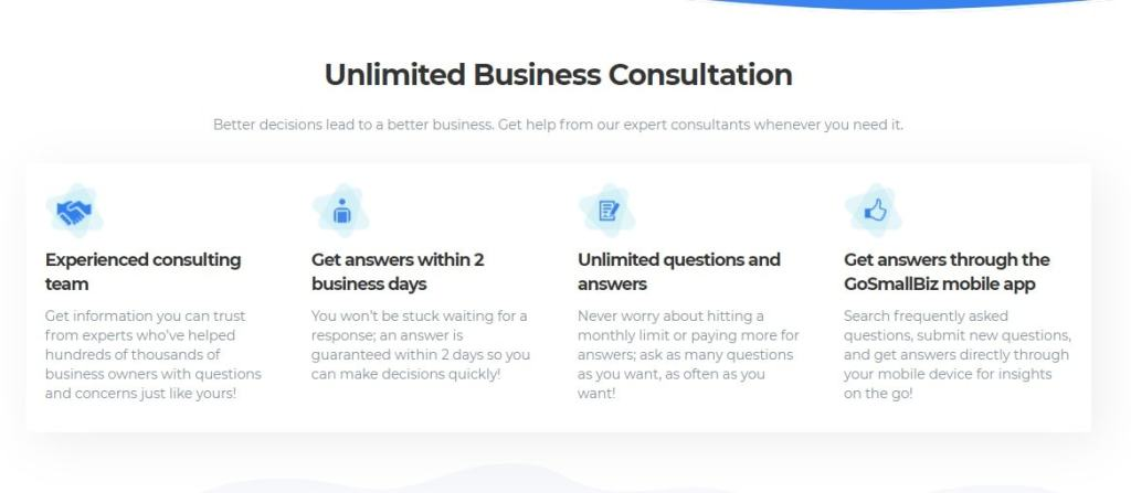 Stuck & need business consultation? No worries, get an unlimited business consultation from industry experts within 48 hours
