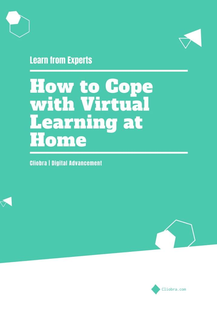 How to cope with virtual learning at home