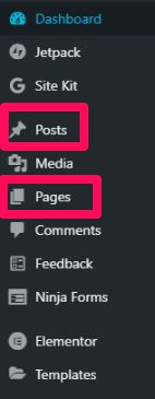 Post & page option is one of the most used tab in a WordPress site