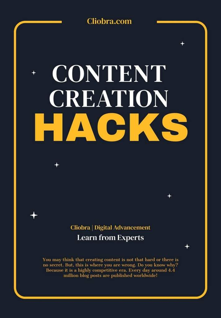 Content Creation Hacks that Convert Visitors to Paid Customers