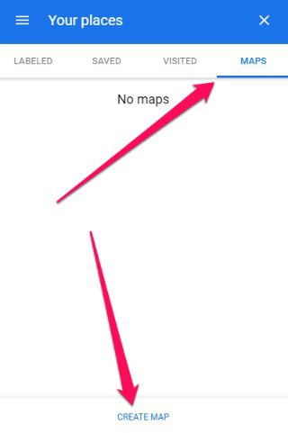 If you created a custom map before then it will show here.