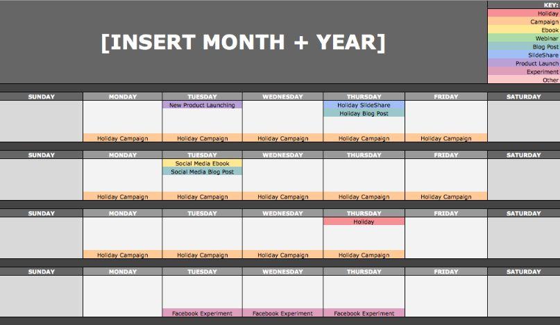 Content calendar is very effective way to maintain consistency in both blog & social media platform.