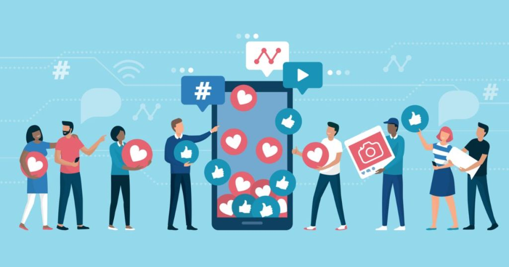 Track how much impression you are getting to measure your social ROI