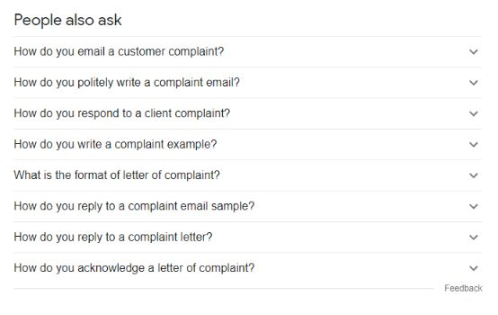 Use Google and look for people also ask section to get the idea of relevant questions for your FAQ page.
