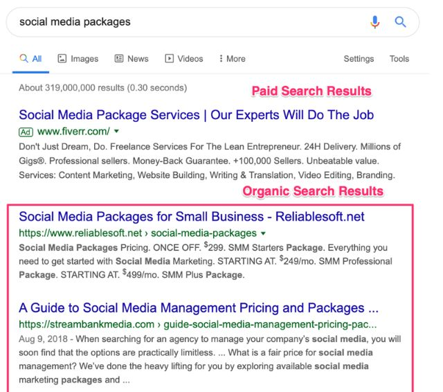 organic search is the best way to attract more clients for your business.