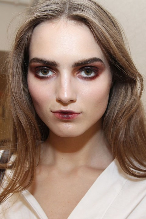 REVLON Sponsors Oscar de la Renta for NY Fashion Week Fall/Winter 2013 - Backstage