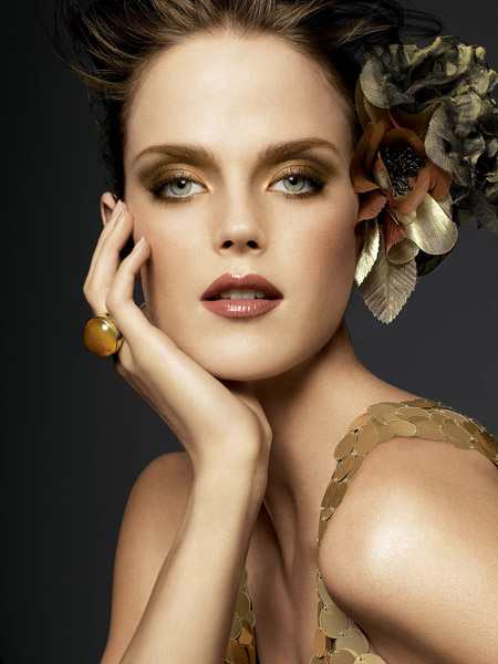 autumnal-golden-makeup-eyes