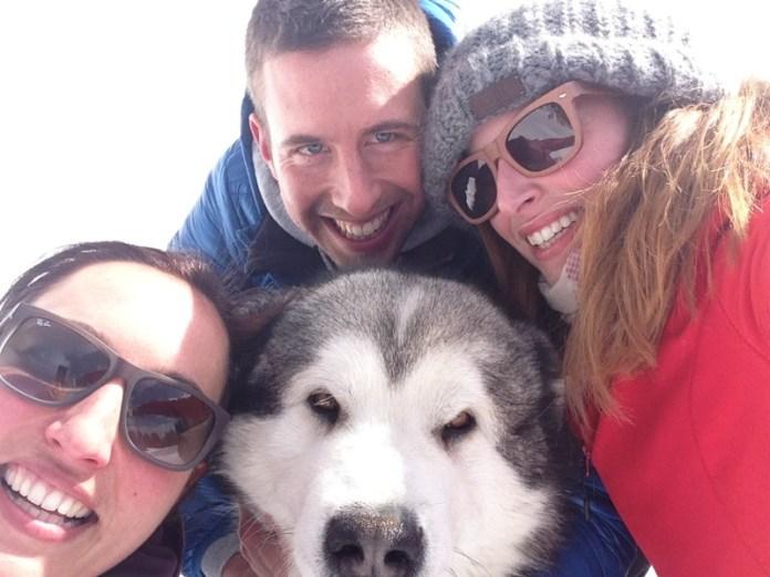 In montagna con Polly e Manuel