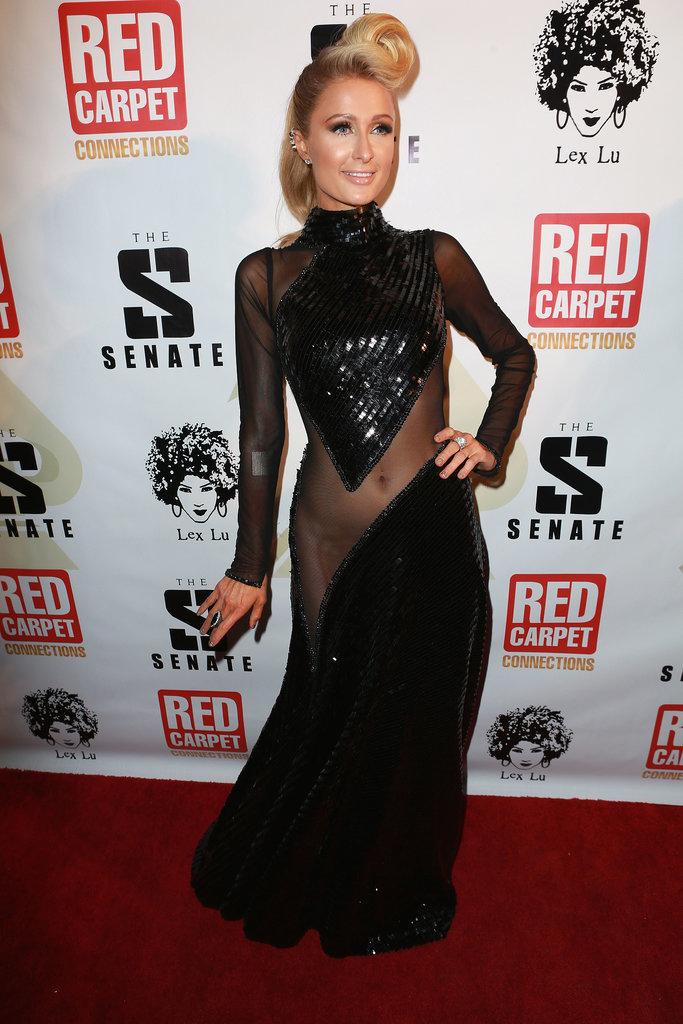 Paris-Hilton-Diddy-Pre-Grammy-Party