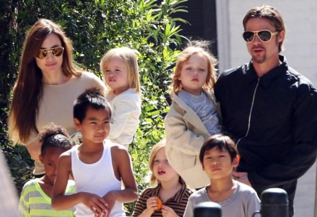 Angelina Jolie Family 2013_