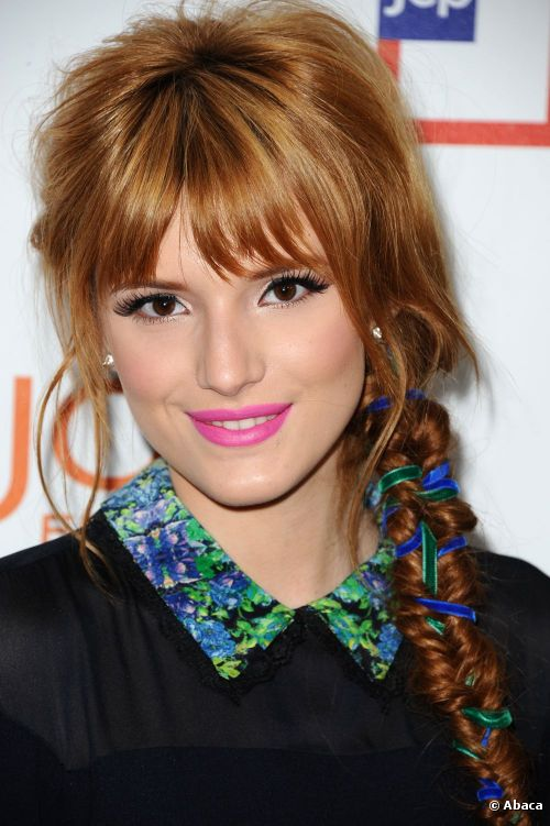 Bella-Thorne-Long-Braided-Hairstyles
