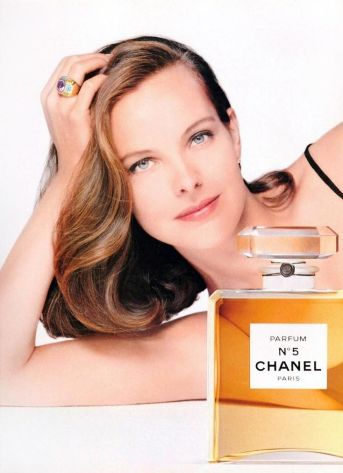Carole Bouquet chanel 5