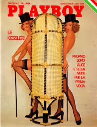 e nel '75,  a quasi quarant'anni, posano per la copertina di Playboy, facendo registrare il massimo delle vendite!