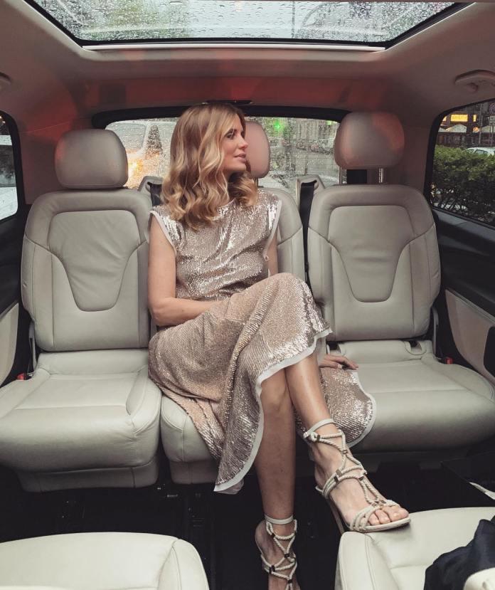 ClioMakeUp-copiare-look-Filippa-Lagerback-5-vestito-paillettes