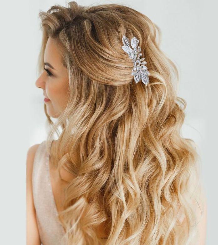 Estremamente Acconciature sposa capelli lunghi: semiraccolti, trecce, code e UH59