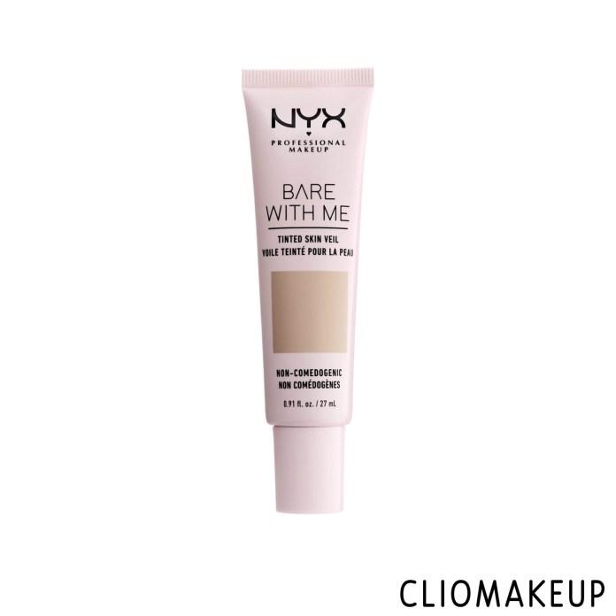 cliomakeup-recensione-fondotinta-nyx-bare-with-me-tinted-skin-veil-1