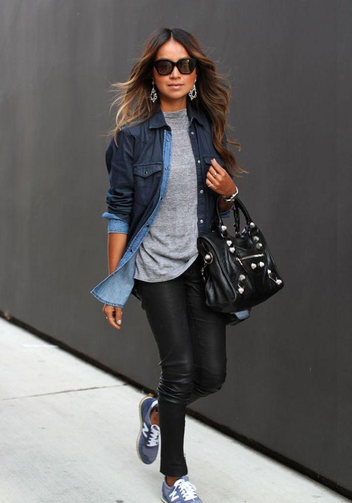 ClioMakeUp-come-indossare-camicia-jeans-10-vestito-strati