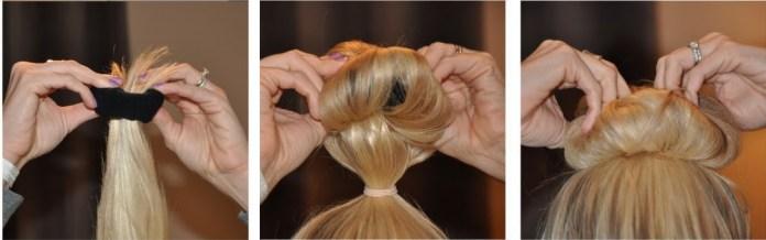 capelli mossi in estate: il metodo con il calzino funziona