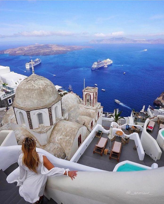 isole greche più belle: Imerovigli Santorini