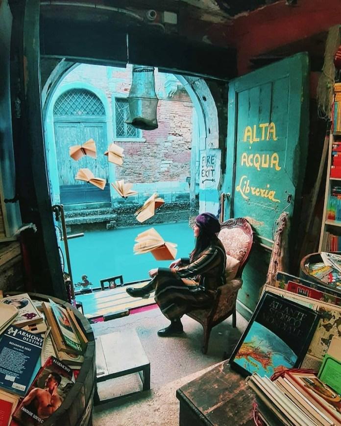 Viaggio a Venezia: la libreria Acqua Alta è tra le 10 più belle al mondo secondo la BBC