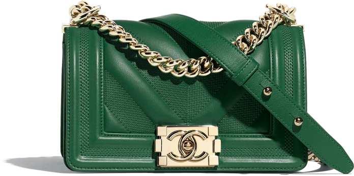 cliomakeup-chanel-borse-icona-classiche-5-boy-verde