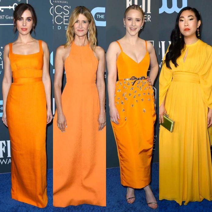cliomakeup-critics-choice-awards-2020-look-17-look arancioni