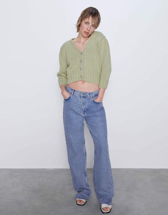Cliomakeup-verde-salvia-colore-primavera-2020-15-cardigan