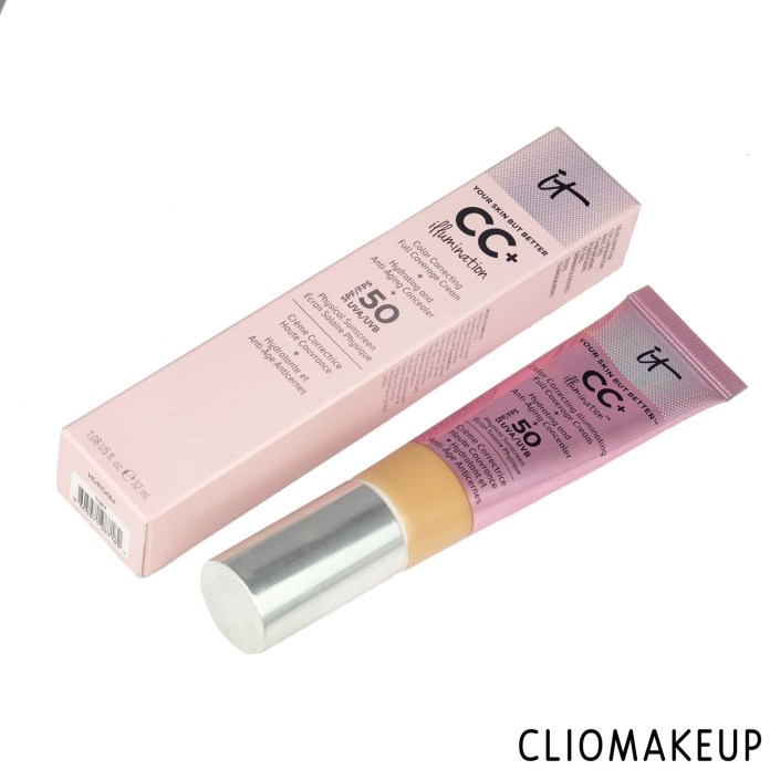 cliomakeup-recensione-cc-cream-it-cosmetics-cc-illumination-color-correcting-full-coverage-cream-2