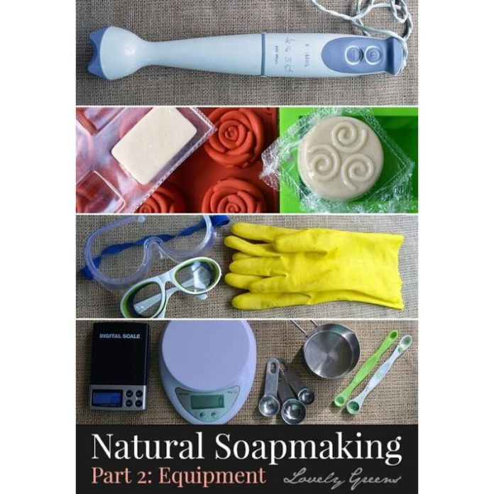 gli strumenti necessari per il sapone fatto in casa sono reperibili in ogni cucina