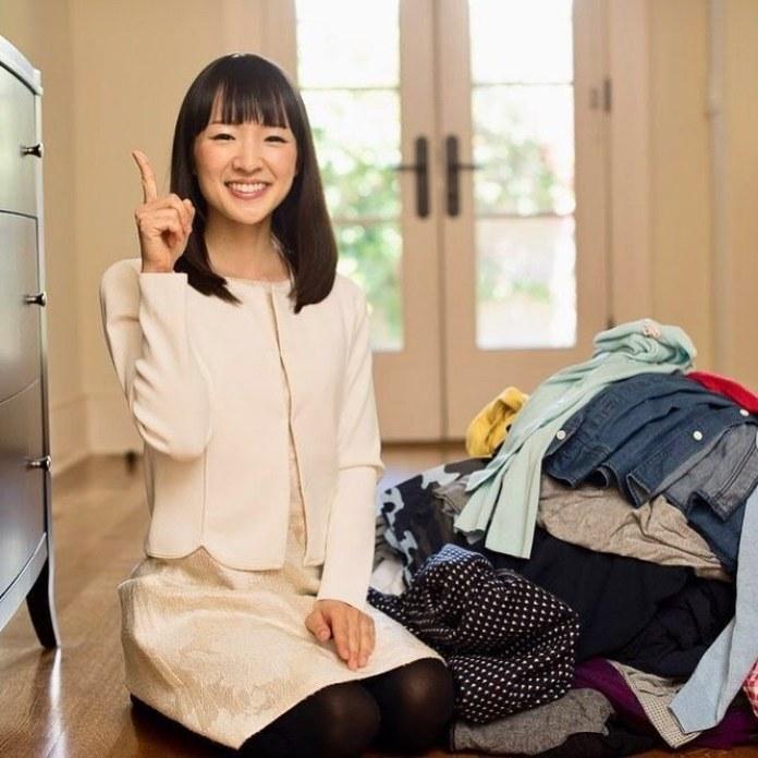 Marie Kondo e il suo metodo Konmari per riordinare casa