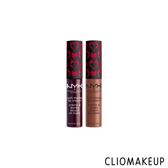 cliomakeup-recensione-rossetti-NYX-chilling-adventures-of-sabrina-soft-matte-lip-cream-duo-1